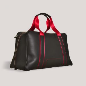 racing red holdall angle