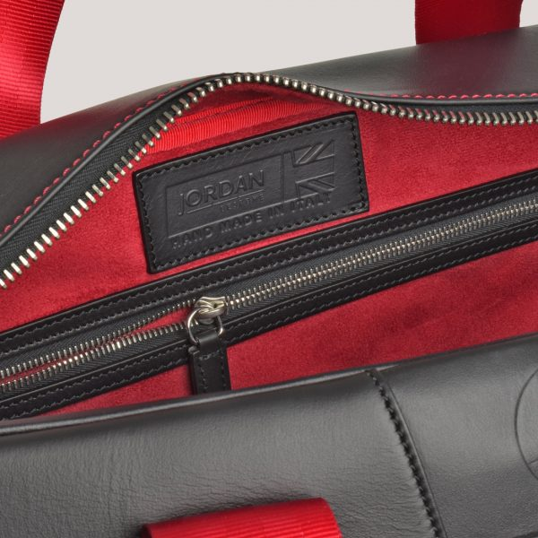 racing red holdall inner