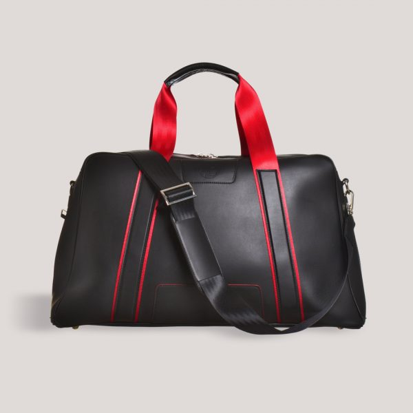racing red holdall strap