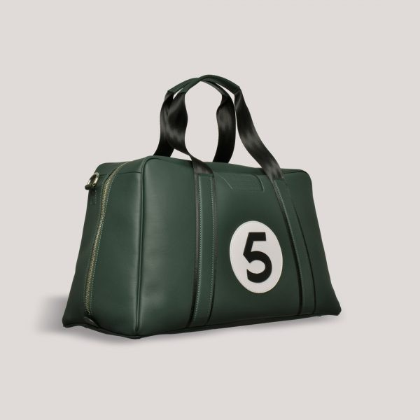 AM 5 Inspired Leather Art GTO Motorsport Holdall 5