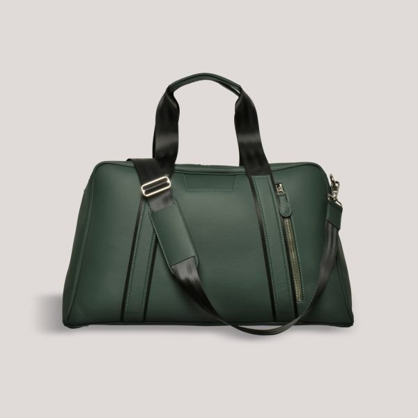 AM 5 Inspired Leather Art GTO Motorsport Holdall 9