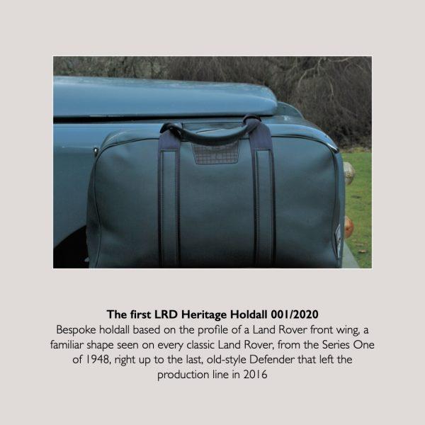 Bag with LR Defender