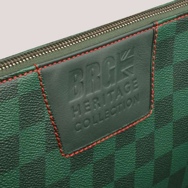 a4 folio brg check red detail