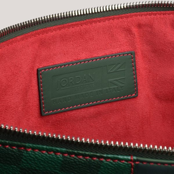 a4 folio brg check red inner