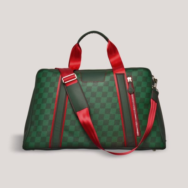 gto holdall ms check red strap 1