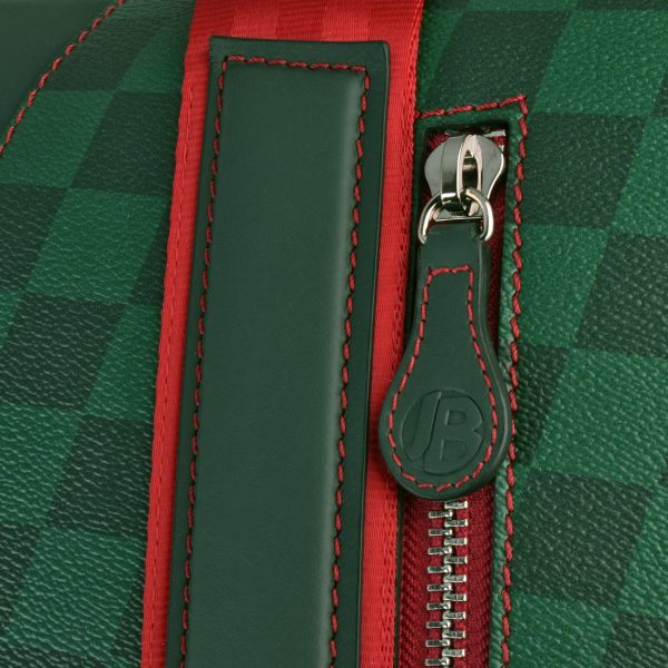 gto holdall ms check red zip 1