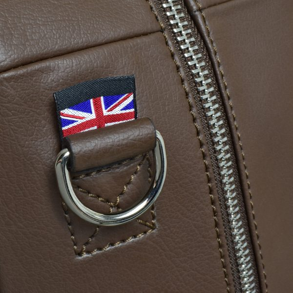 gto holdall pebble brown detail