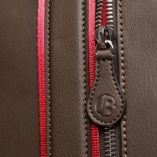gto holdall pebble brown zip