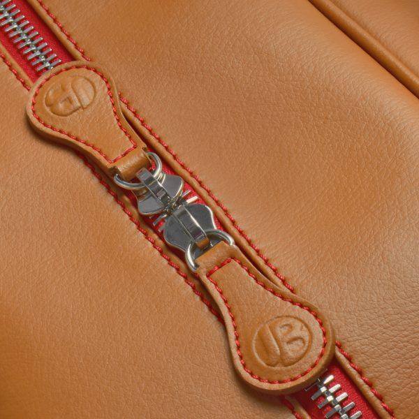 gto holdall pebble tan zip