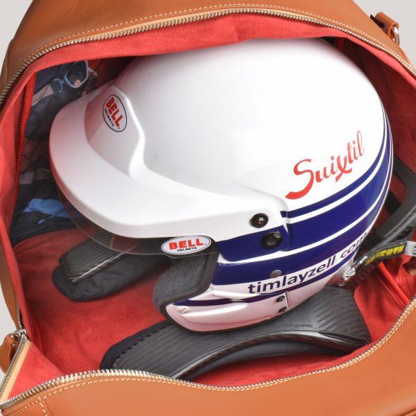 helmet bag layzell open